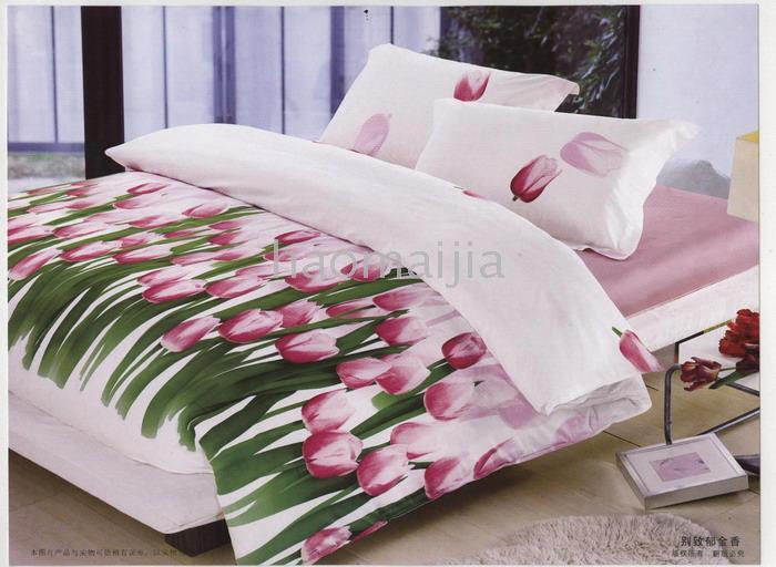 لعاشقات الورد لكم مفارش السرير كلها ورد... 00992411828692637383