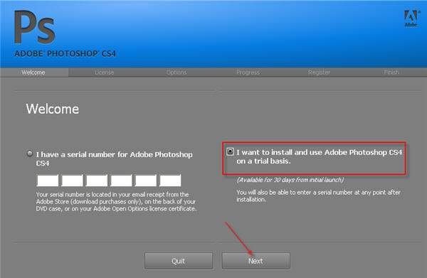 Adobe Photoshop cs4 exe rachaduras