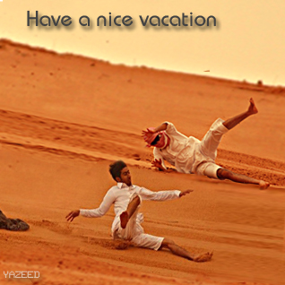 Have nice vacation
