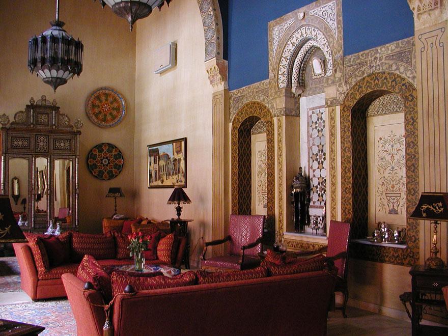 فندق يقع في سوريا يجمع بين الحداثه و التراث السوري