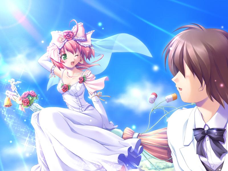 انمي عروسه انمي بفستان الزفاف